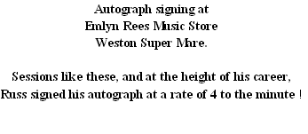 Autograph signing at 